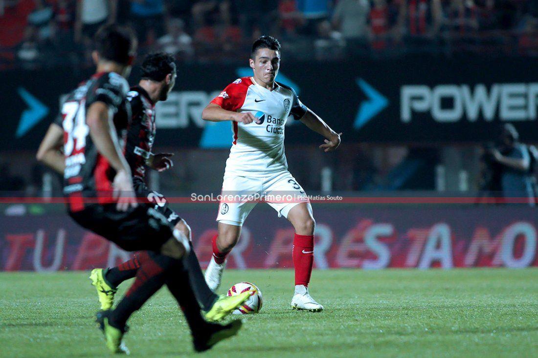 """Matías Palacios: """"Quiero tener más minutos en San Lorenzo"""""""