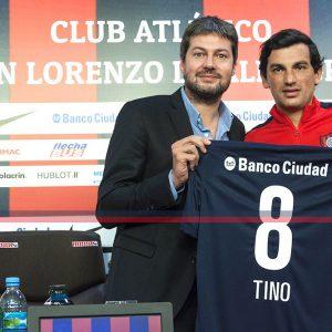"Costa: ""Estoy feliz por llegar a San Lorenzo"""