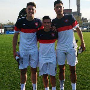 Fútbol Juvenil: el Ciclón se midió con Estudiantes