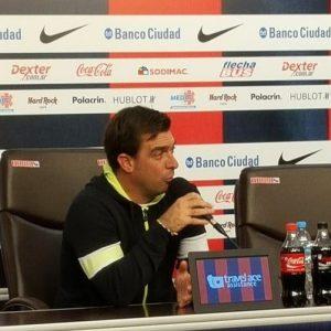 """Guede: """"Me gustaría saber cuántos quieren jugar contra San Lorenzo"""""""