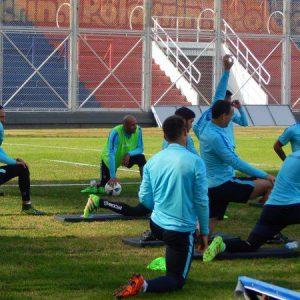 Con Mercier y Blandi, San Lorenzo se entrenó pensando en Lanús