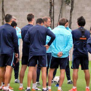 Nuevo entrenamiento en Ciudad Deportiva