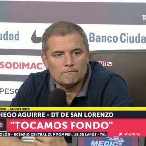 """Aguirre: """"Nunca pensé en dar un paso al costado"""""""