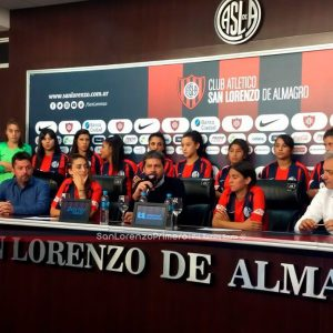 """La AFA y San Lorenzo van a seguir apoyando al Fútbol femenino"""