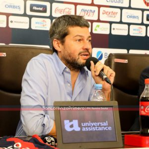 "Lammens: ""San Lorenzo viene a ponerle valor al barrio"""