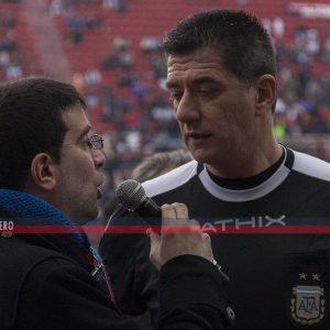 """Maglio: """"Dirigiendo a San Lorenzo disfruté ver a Montero, a Correa, al Pipi"""""""