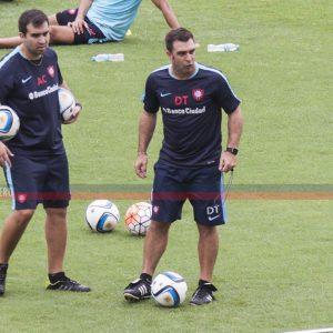 Guede determinó a sus concentrados para visitar La Plata. ¿Hay equipo?