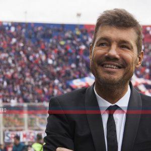 """Tinelli: """"Tenemos mucha confianza en Almirón como entrenador y armador de grupo"""""""