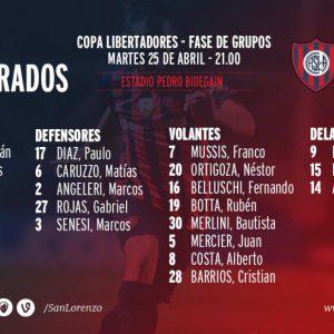 Todo listo para seguir con vida en la Libertadores
