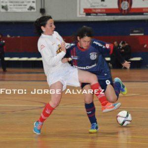 Futsal Femenino: excelente jornada de las Santitas en el clásico