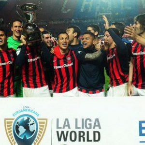 La Copa Euroamericana iluminó la noche de San Lorenzo