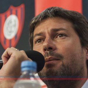 """Lammens: """"San Lorenzo vive un mal momento futbolístico y nos preocupa"""""""