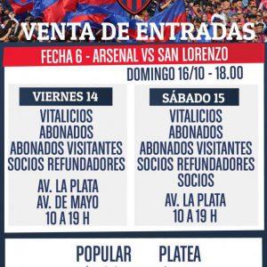 Venta de entradas para visitar a Arsenal