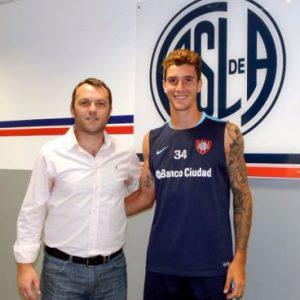El juvenil Marcos Senesi firmó su primer vínculo contractual con San Lorenzo