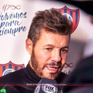 Tinelli y su deseo para San Lorenzo y la Vuelta a Boedo