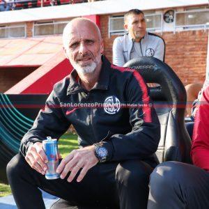 Tinelli confirmó a Monarriz como técnico hasta fin de año