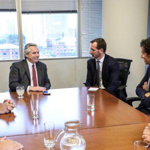 El CEO de Carrefour se reunió con Lammens
