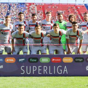 ¿Monarriz repite el equipo de San Lorenzo ante River?