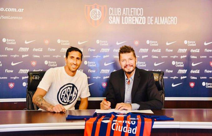 Alejandro Donatti firmó su contrato con San Lorenzo