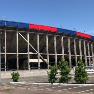 Obras en el estadio para recibir ante Estudiantes