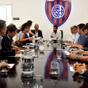 Nueva reunión de Comisión Directiva en San Lorenzo
