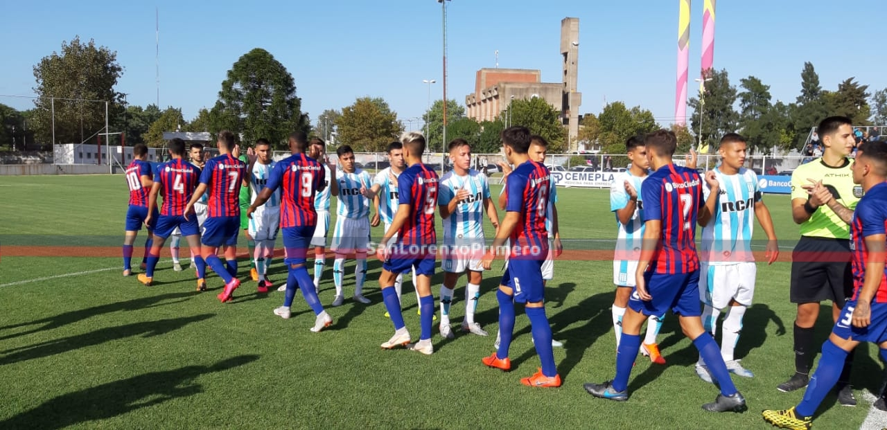 La Reserva de San Lorenzo cayó ante Racing