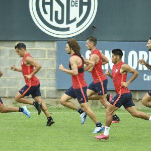 Los concentrados de San Lorenzo para recibir a Vélez