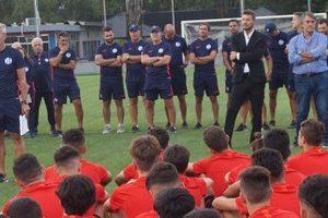 Fútbol juvenil suspendido en San Lorenzo