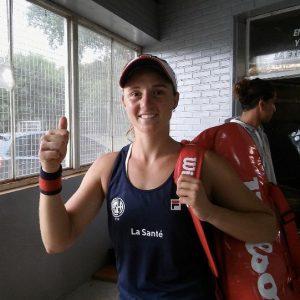 La primera deportista de San Lorenzo que volvió a competir
