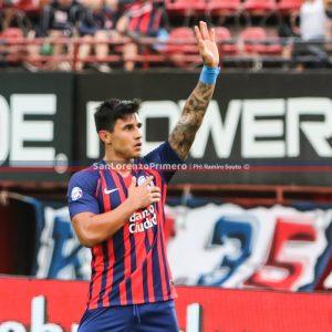Adam Bareiro se despidió de San Lorenzo
