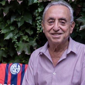 El saludo de una gloria de San Lorenzo al Dr. Pedro Cahn