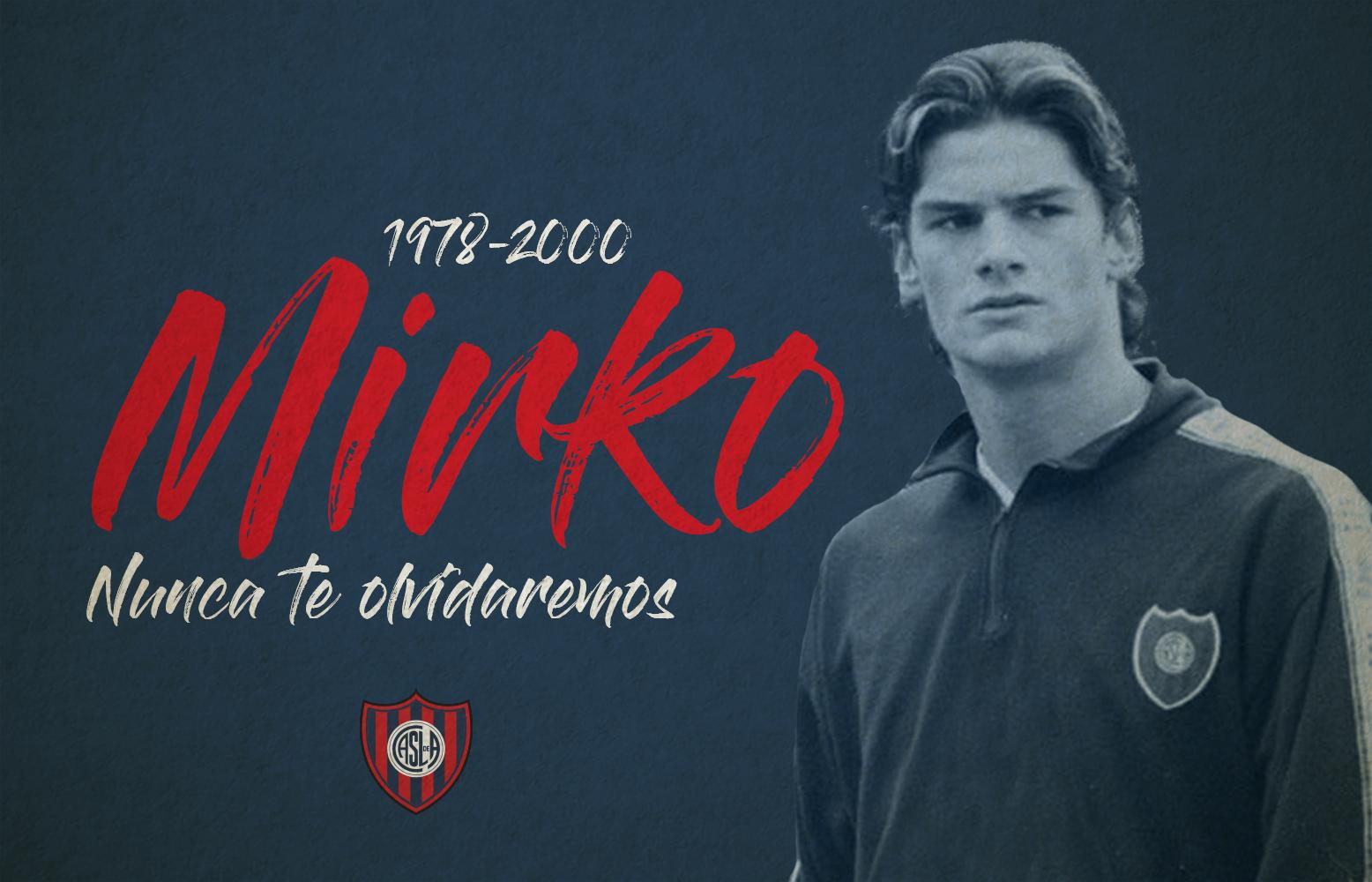 El recuerdo de San Lorenzo para Mirko