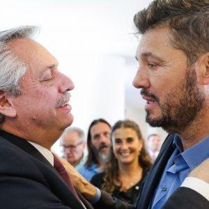 El regalo de Marcelo Tinelli a Alberto Fernández