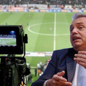 Alberto Fernández habló sobre la vuelta del fútbol