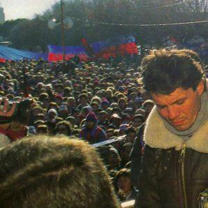 La promesa de Marcelo Tinelli tras ganar el Clausura 1995