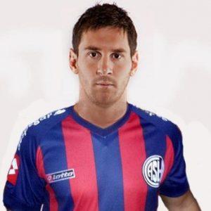 El día que Lionel Messi firmó un contrato con San Lorenzo