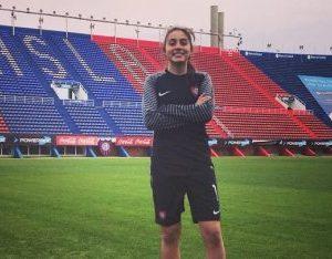 Ariana Álvarez abandonó San Lorenzo