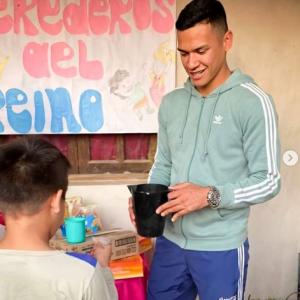 La ayuda solidaria de Andrés Herrera
