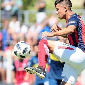 """Francisco Galván: """"Tengo muchas ganas de demostrar todo lo que puedo dar en San Lorenzo"""""""