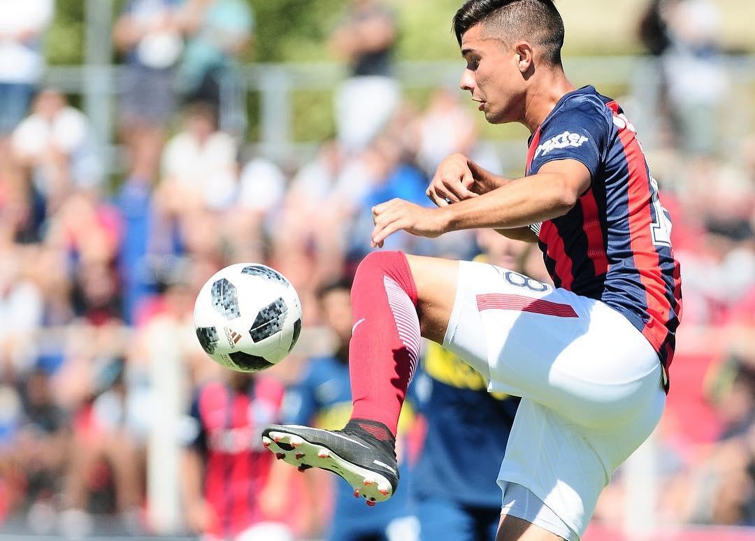 """Francisco Galván: """"Tengo muchas ganas de demostrar todo lo que puedo dar en San Lorenzo"""