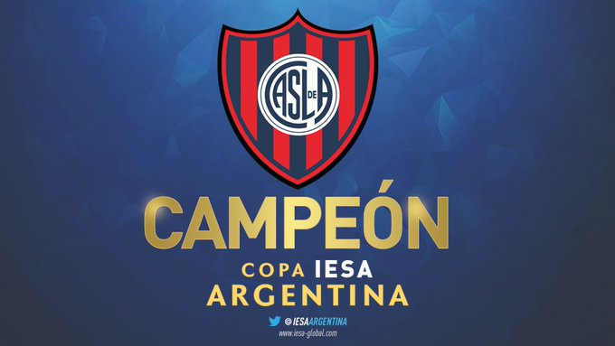 San Lorenzo consiguió su primer título en el 11v11 de FIFA