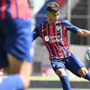 """Iván Leguizamón: """"Firmar mi primer contrato con San Lorenzo es algo único"""""""
