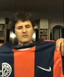 Andrés Ciro, su vínculo con San Lorenzo y una movida solidaria con varios ex