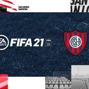 San Lorenzo presentó la alianza con EA Sports