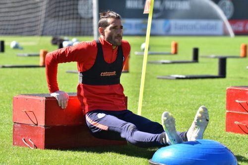 San Lorenzo arrancó una nueva semana de trabajo con novedades