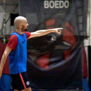 Este lunes, testeos para el futsal de San Lorenzo
