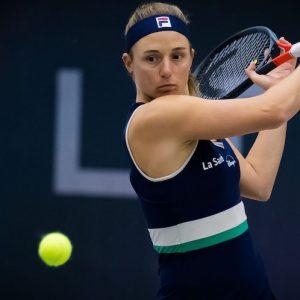 Nadia Podoroska debutó con victoria en Linz