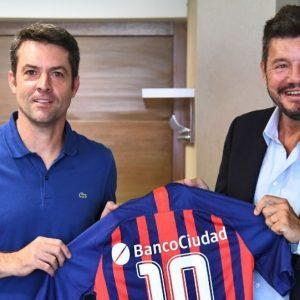 Agustín Calleri, Presidente de la AAT, visitó las instalaciones del club