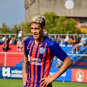 Siro Rosané firmó su primer contrato con San Lorenzo