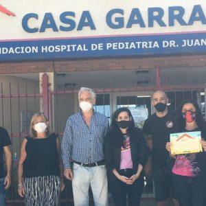 San Lorenzo y su gesto solidario con la Casa Garrahan